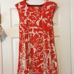 Anthropologie Maeve Bird Dress